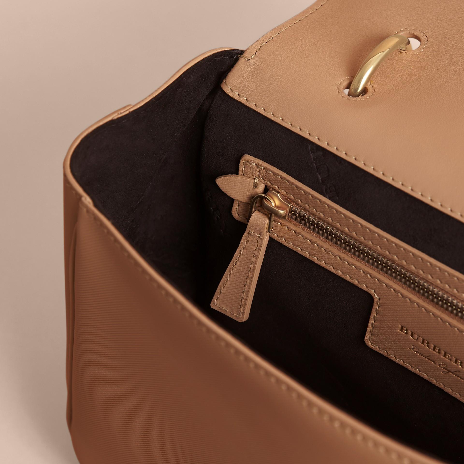 The Medium DK88 Top Handle Bag Honey - gallery image 6
