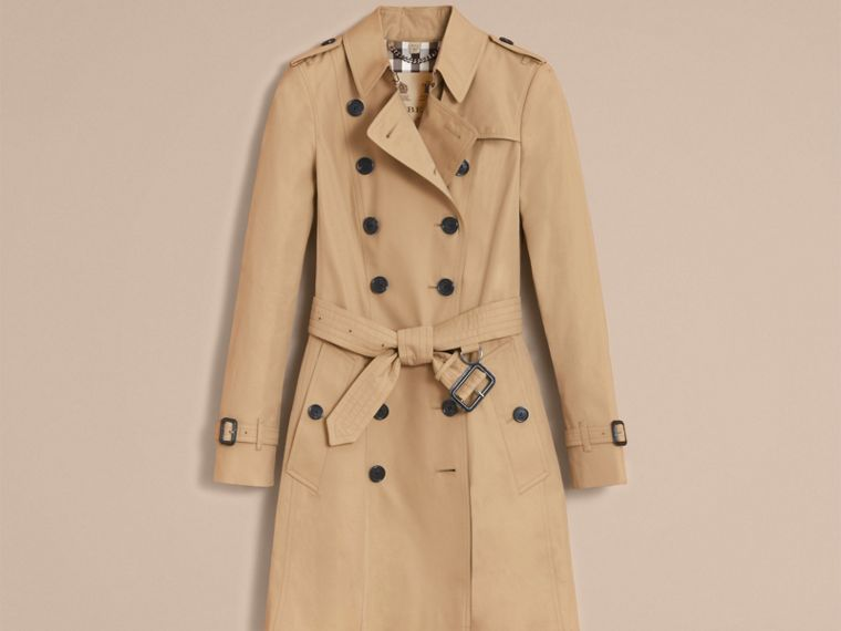Honey The Chelsea – Mid-length Heritage Trench Coat Honey - cell image 4