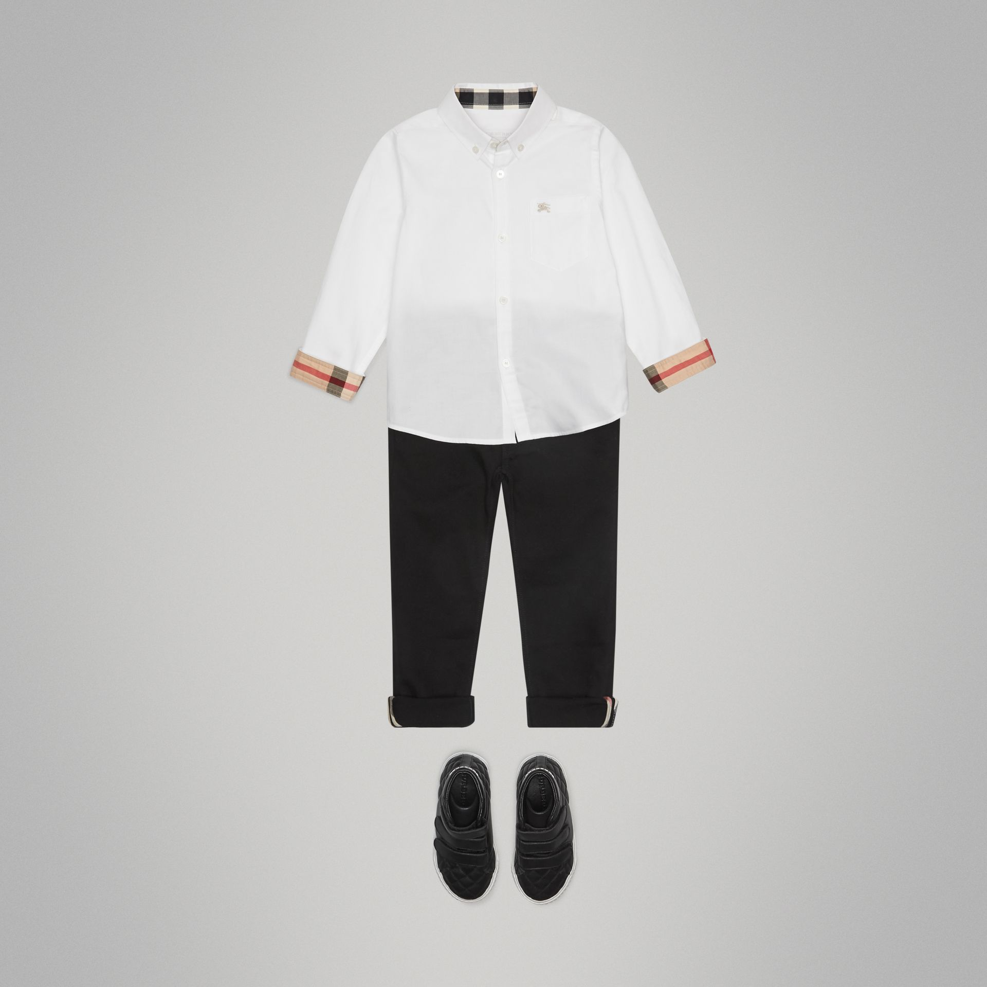 Classic Oxford Shirt in White | Burberry United Kingdom - gallery image 2