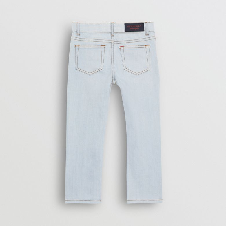 Burberry - Jean extensible de coupe skinny - 4
