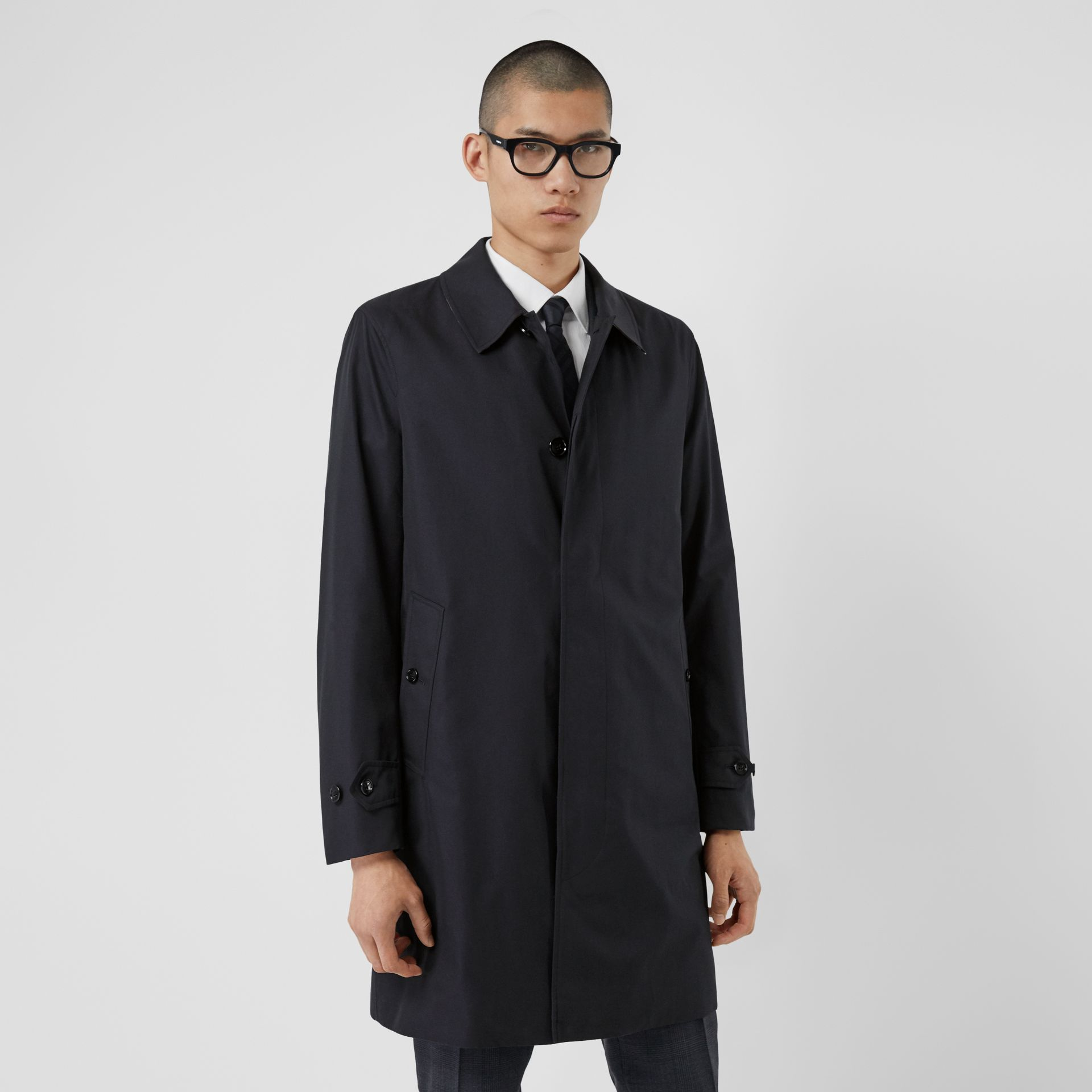 The Pimlico Car Coat in Midnight - Men | Burberry - gallery image 5