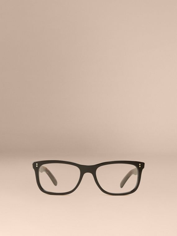 Square Optical Frames Black - cell image 2