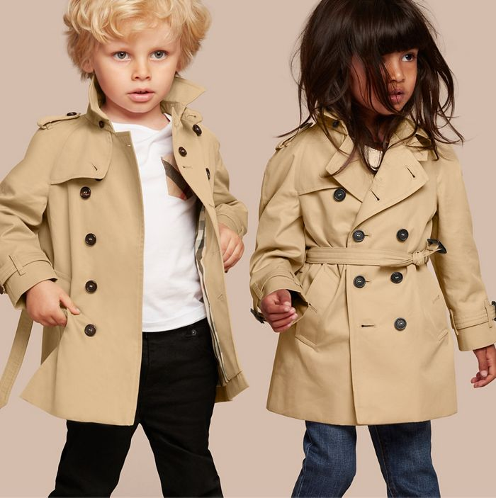 Classic coats for boys and girls