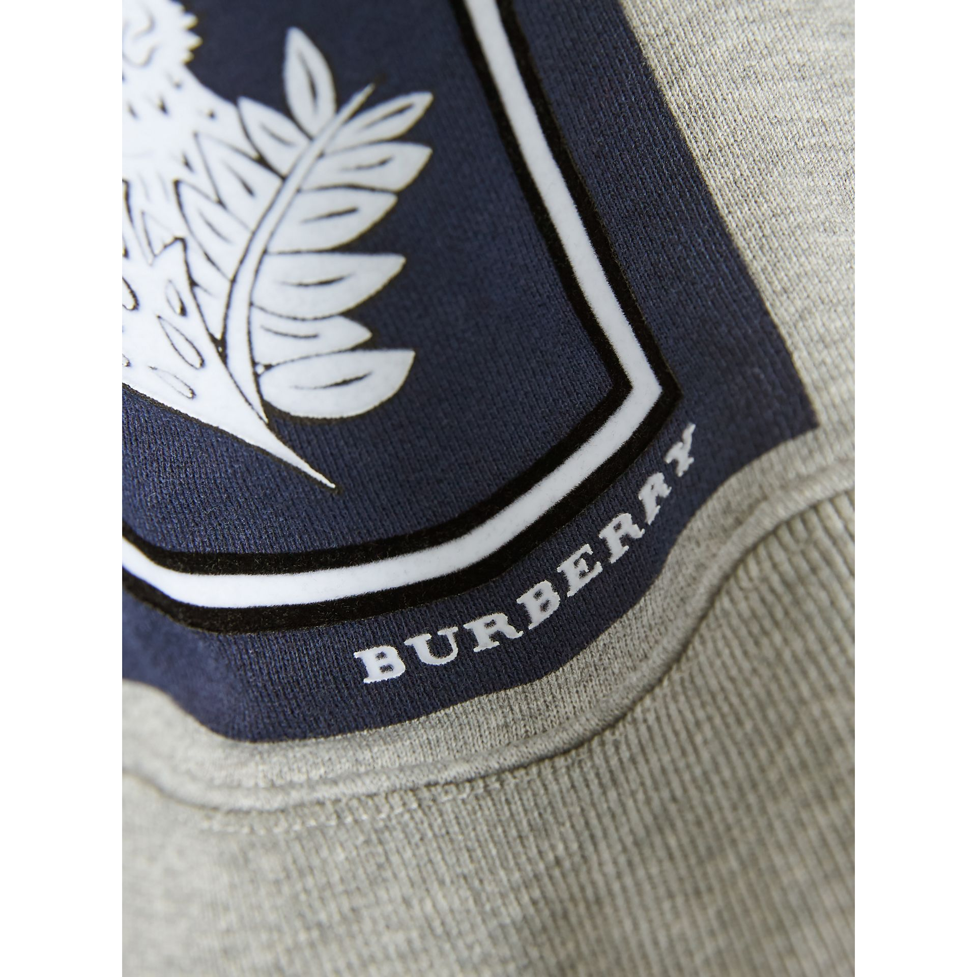 Beasts Print Cotton Sweatshirt in Deep Blue - Boy | Burberry - gallery image 2