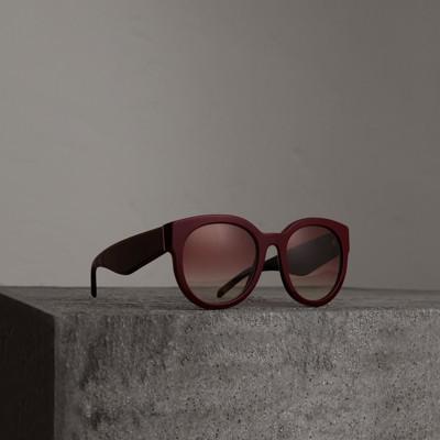 Gafas de montura sol con 1 de redonda Burberry 6qwrT64
