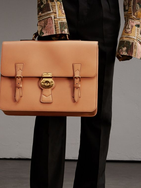 The Medium DK88 Satchel in Pale Clementine - Men | Burberry - cell image 2