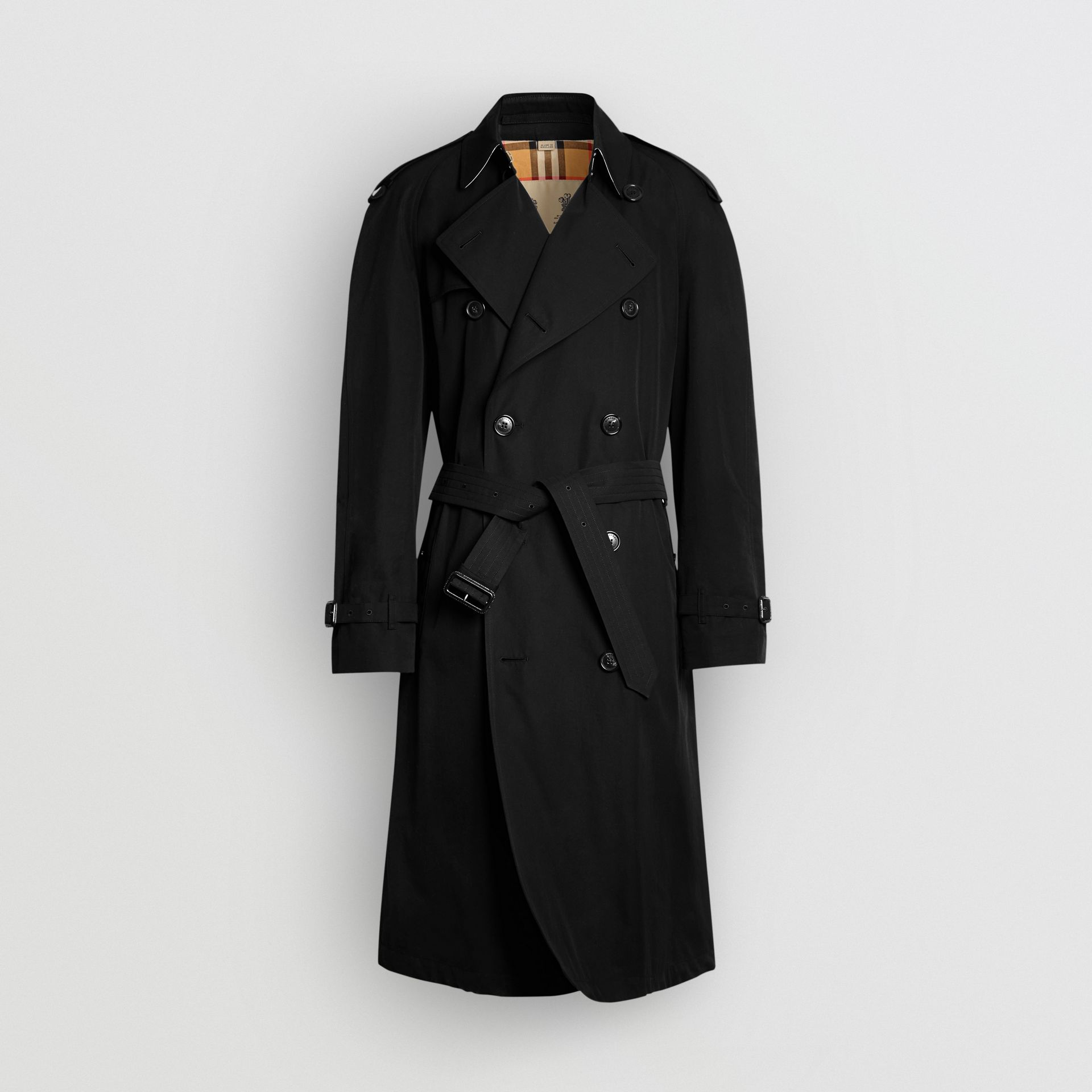 The Westminster Heritage Trench Coat in Black - Men | Burberry Singapore - gallery image 3