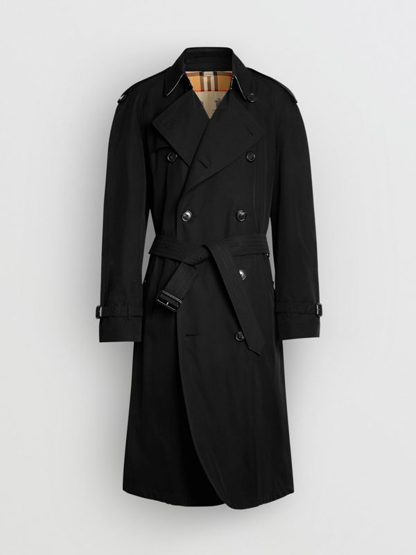 The Westminster Heritage Trench Coat in Black - Men | Burberry Singapore - cell image 3