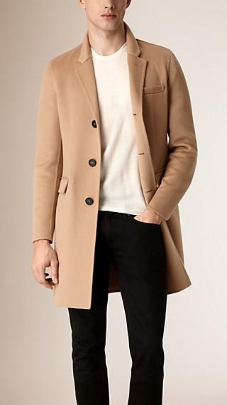 Manteau ajusté en cachemire