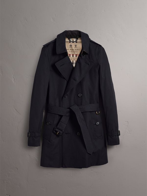 The Sandringham – Mid-length Trench Coat in Navy - Men | Burberry - cell image 3