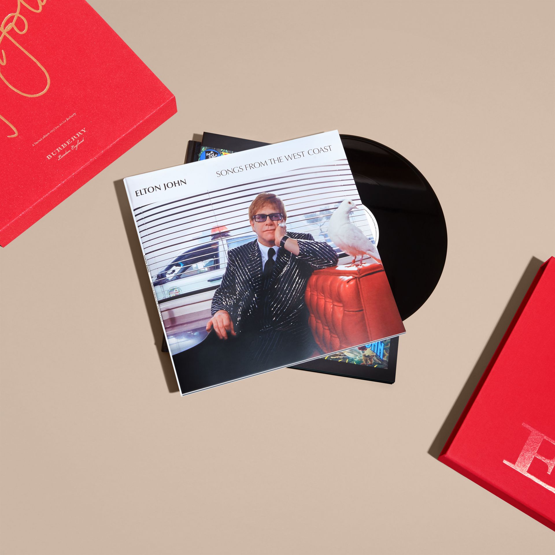 Multicolour Elton John: A Limited Edition Vinyl Box Set for Burberry - gallery image 3