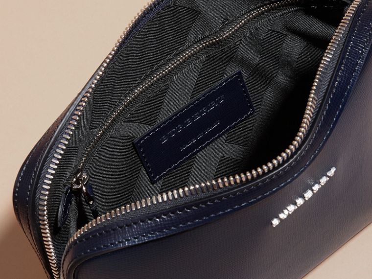 Dark navy London Leather Pouch Dark Navy - cell image 4