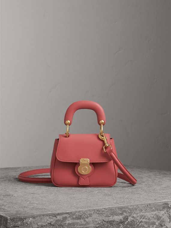 The Mini DK88 Top Handle Bag in Blossom Pink - Women | Burberry