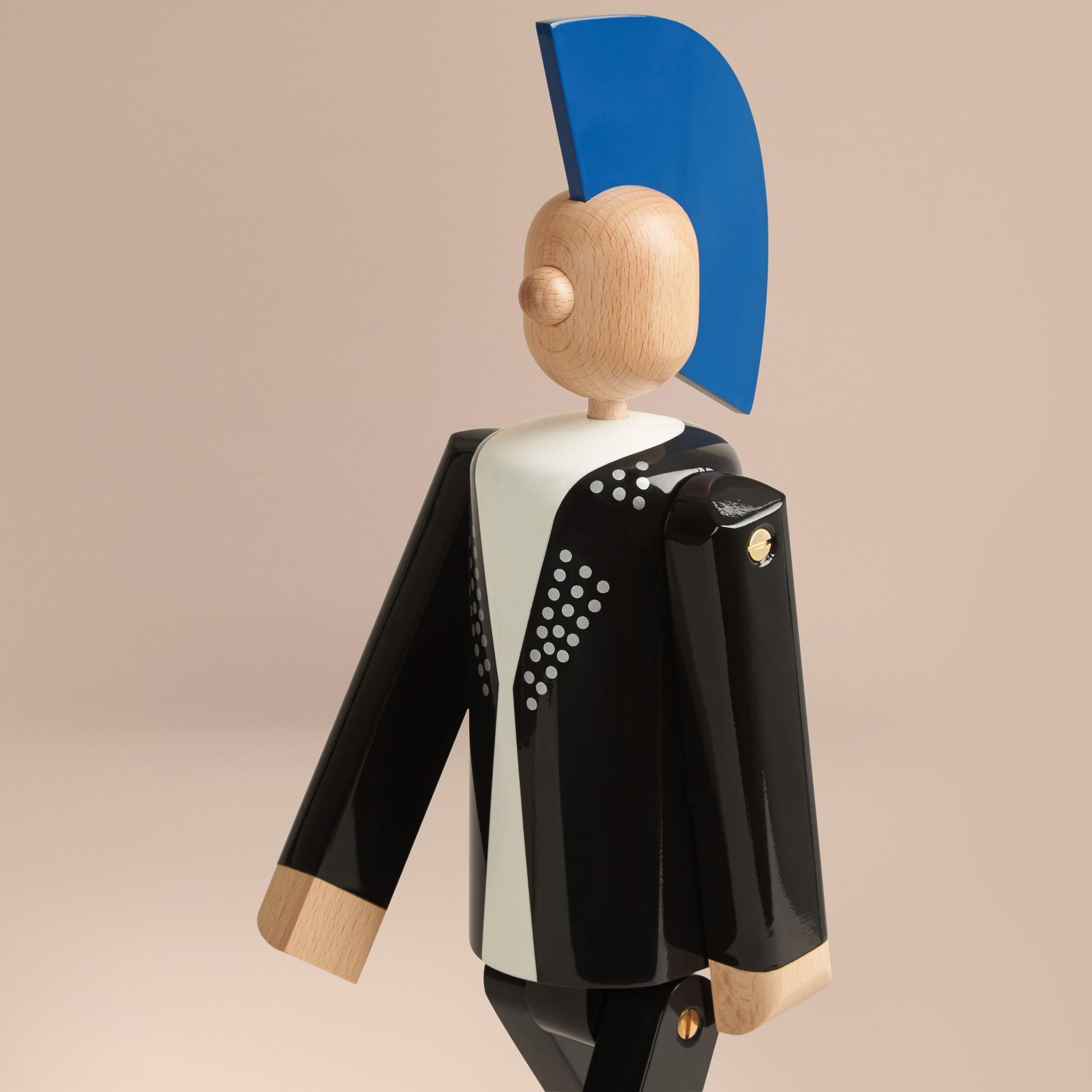 Multicolore Marionnette en bois à l'effigie du Punk en édition limitée - photo de la galerie 7