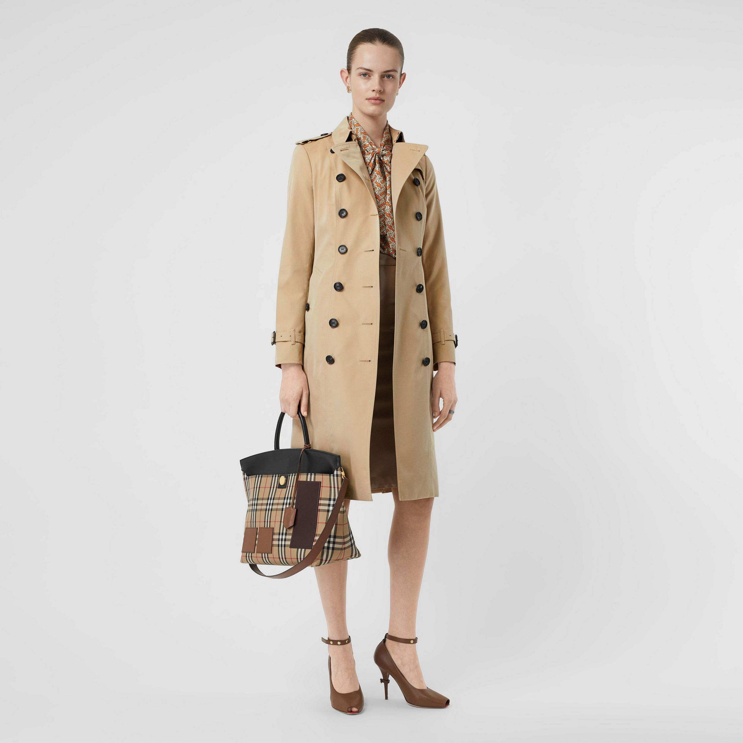 The Sandringham – Extra-long Trench Coat in Honey - Women | Burberry United States - 1