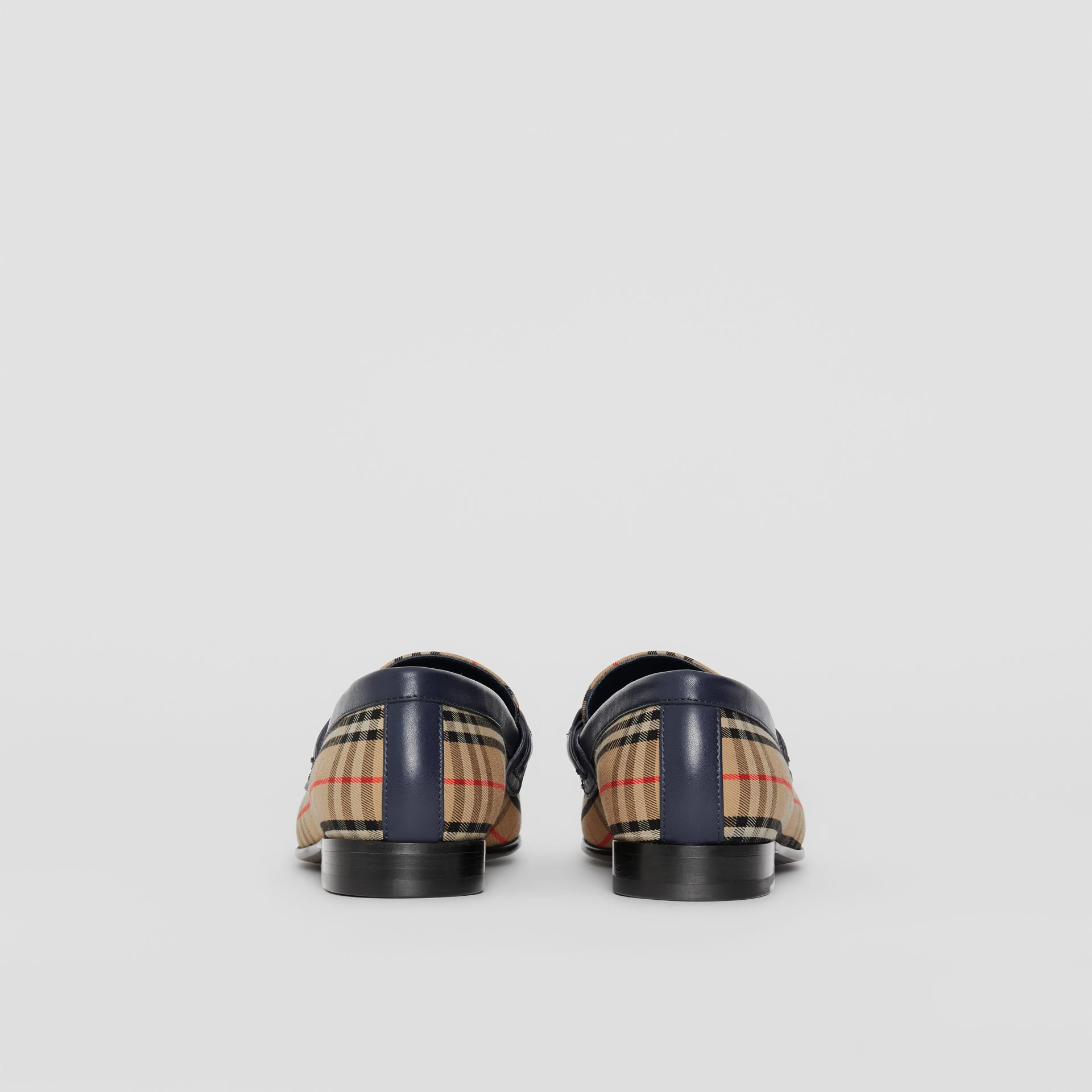 The 1983 Check Link Loafer in Ink Blue - Women | Burberry - gallery image 3