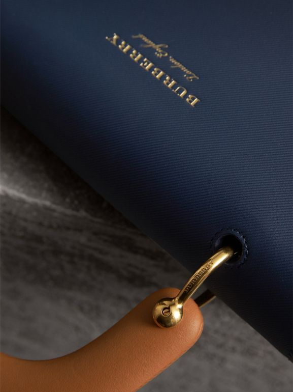 The Medium DK88 Top Handle Bag in Ink Blue - Women | Burberry United Kingdom - cell image 1