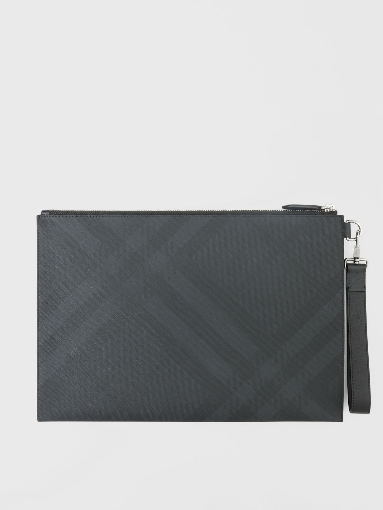 Large London Check Zip Pouch