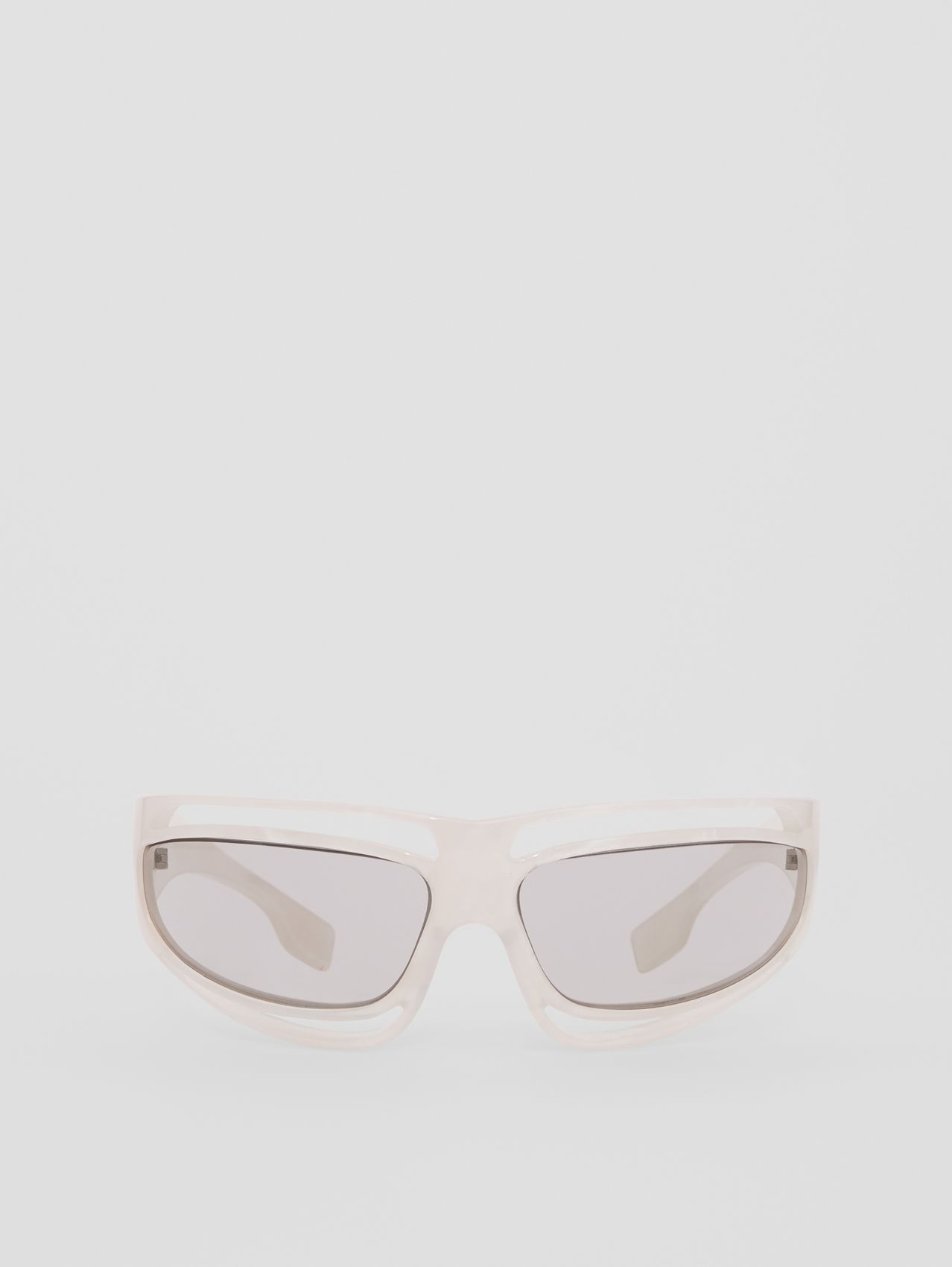 Eliot Shield Sunglasses in Pearl