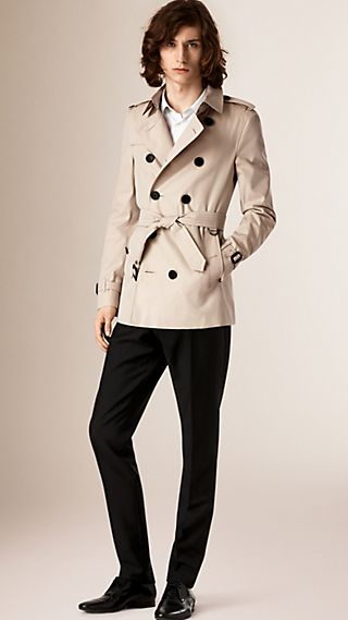 The Chelsea - Trench coat Heritage corto