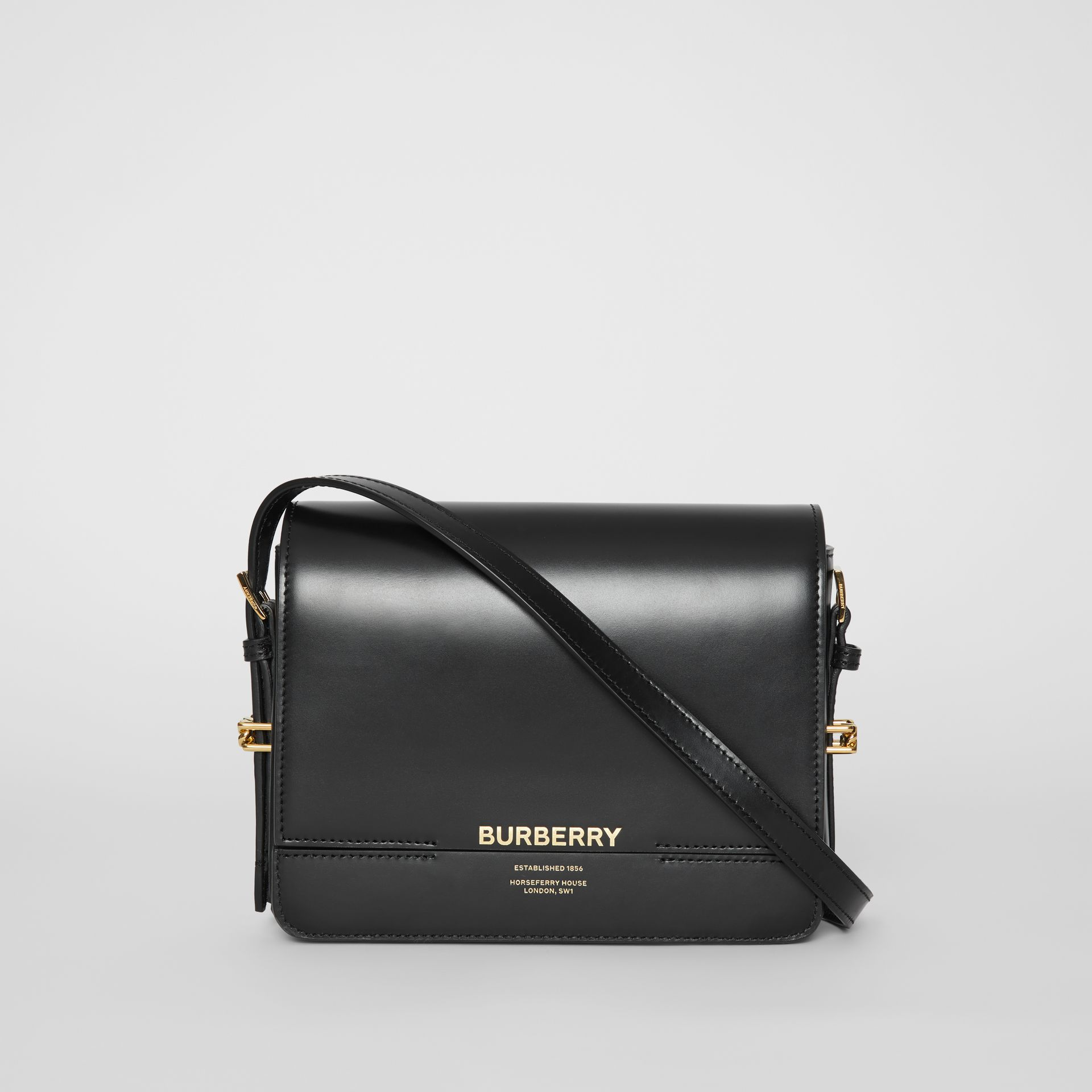 Small Leather Grace Bag in Black - Women | Burberry Australia - gallery image 0
