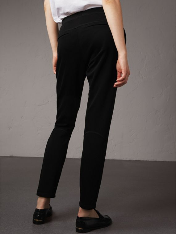 Heavy Twill Sports Trousers - Women | Burberry - cell image 2