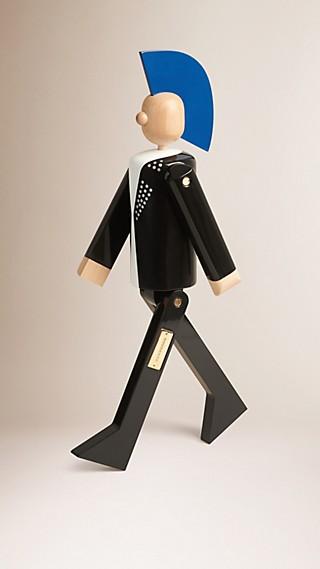 Marionnette en bois à l'effigie du Punk en édition limitée