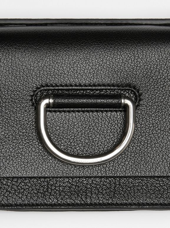 The Mini Leather D-ring Bag in Black - Women | Burberry Australia - cell image 1