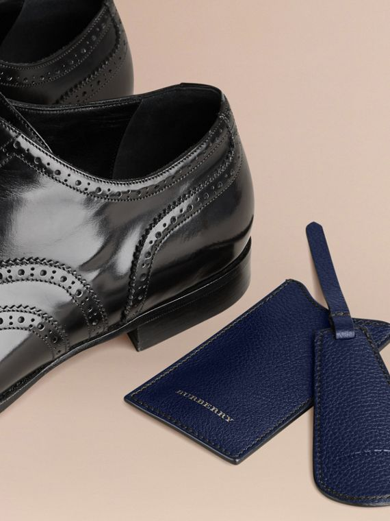 Leather Shoe Horn in Bright Navy - Men | Burberry - cell image 3