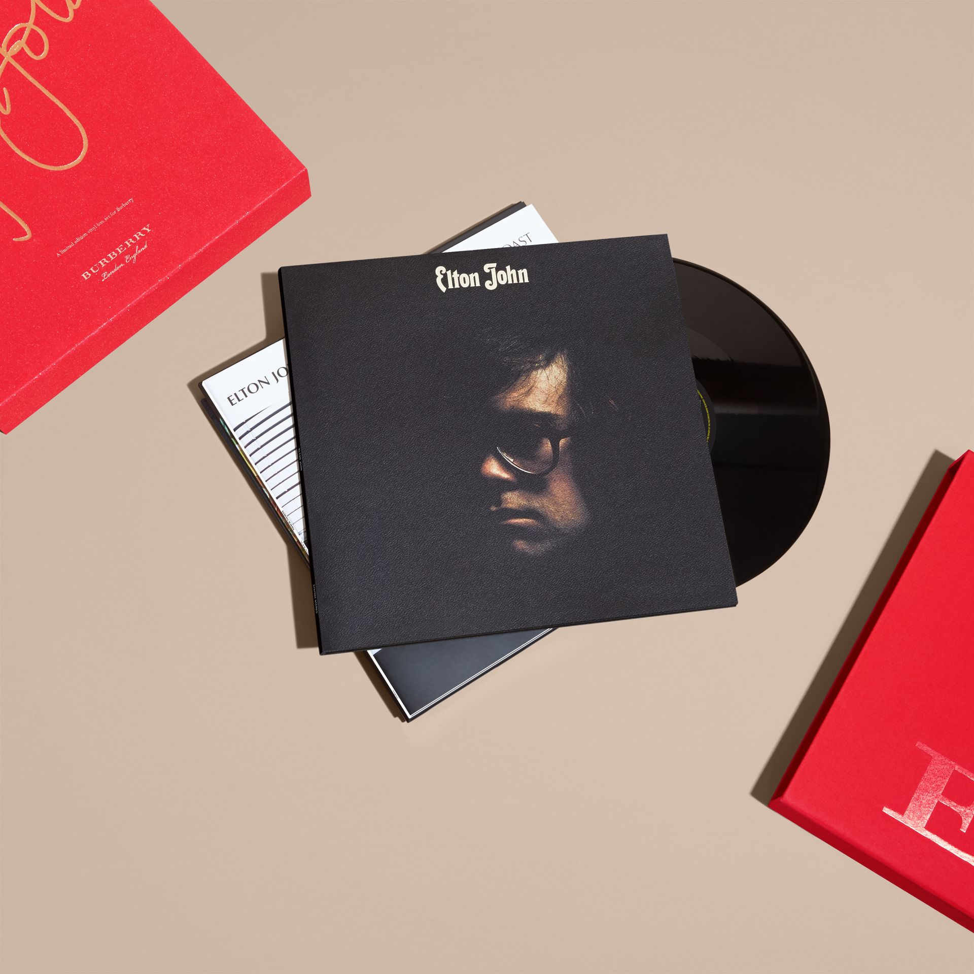 Multicolour Elton John: A Limited Edition Vinyl Box Set for Burberry - gallery image 8