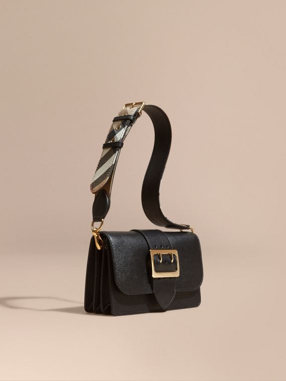 Borsa The Buckle piccola in pelle