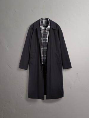 Gosha + Burberry - Cappotto car coat ricostruito (Navy)
