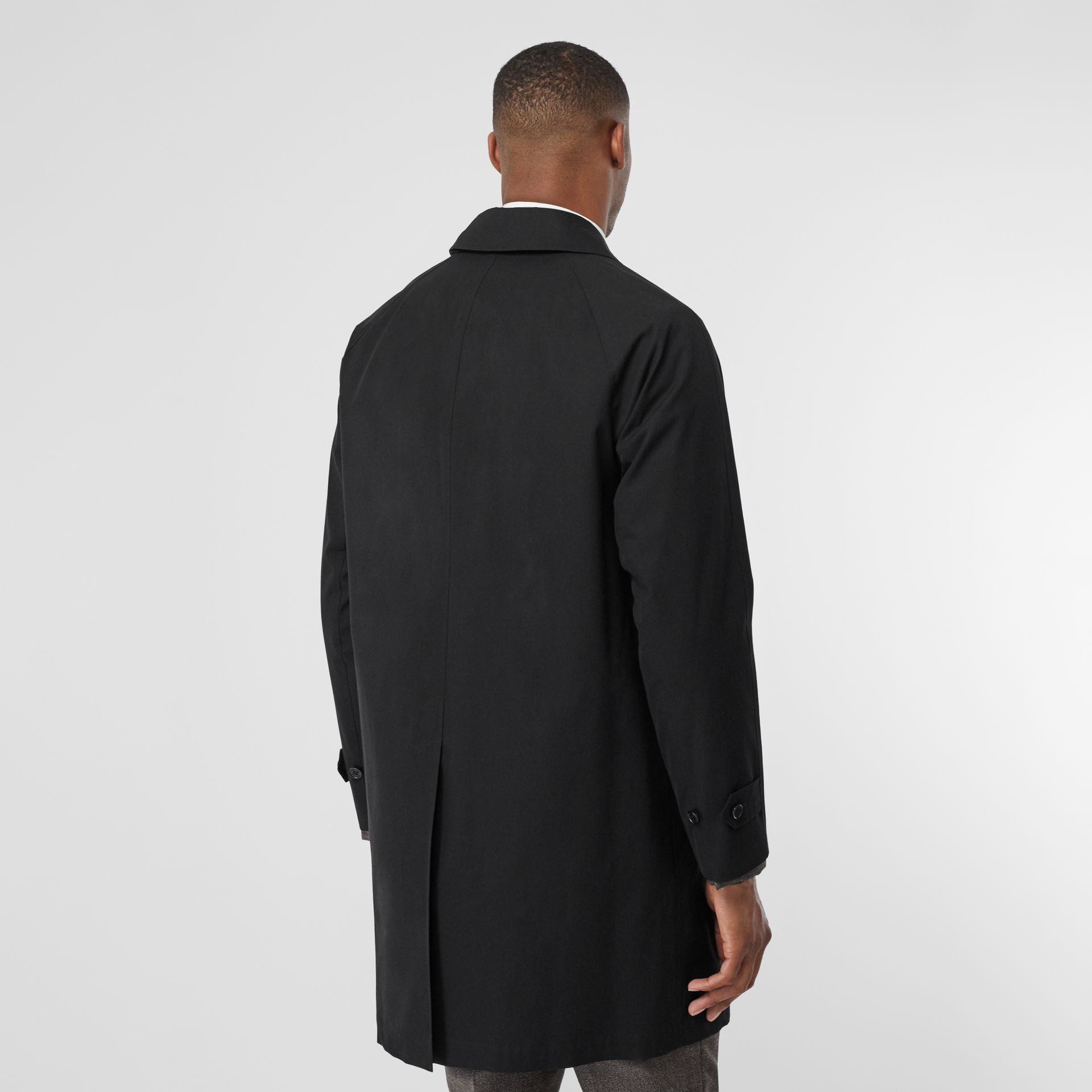 The Camden Car Coat in Black - Men | Burberry - gallery image 2