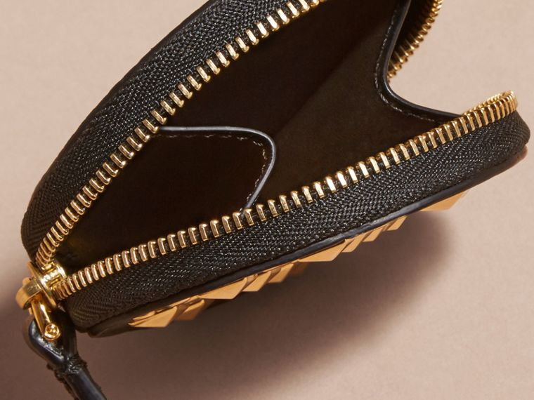 Studded Leather Coin Case - cell image 4