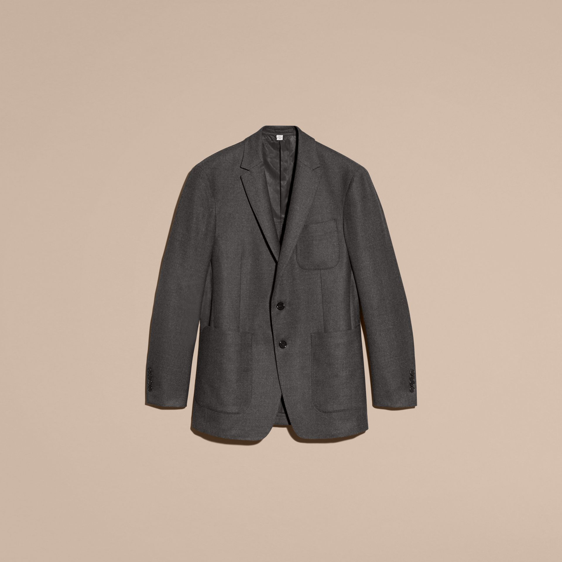 Modern Fit Tailored Wool Jacket - gallery image 4