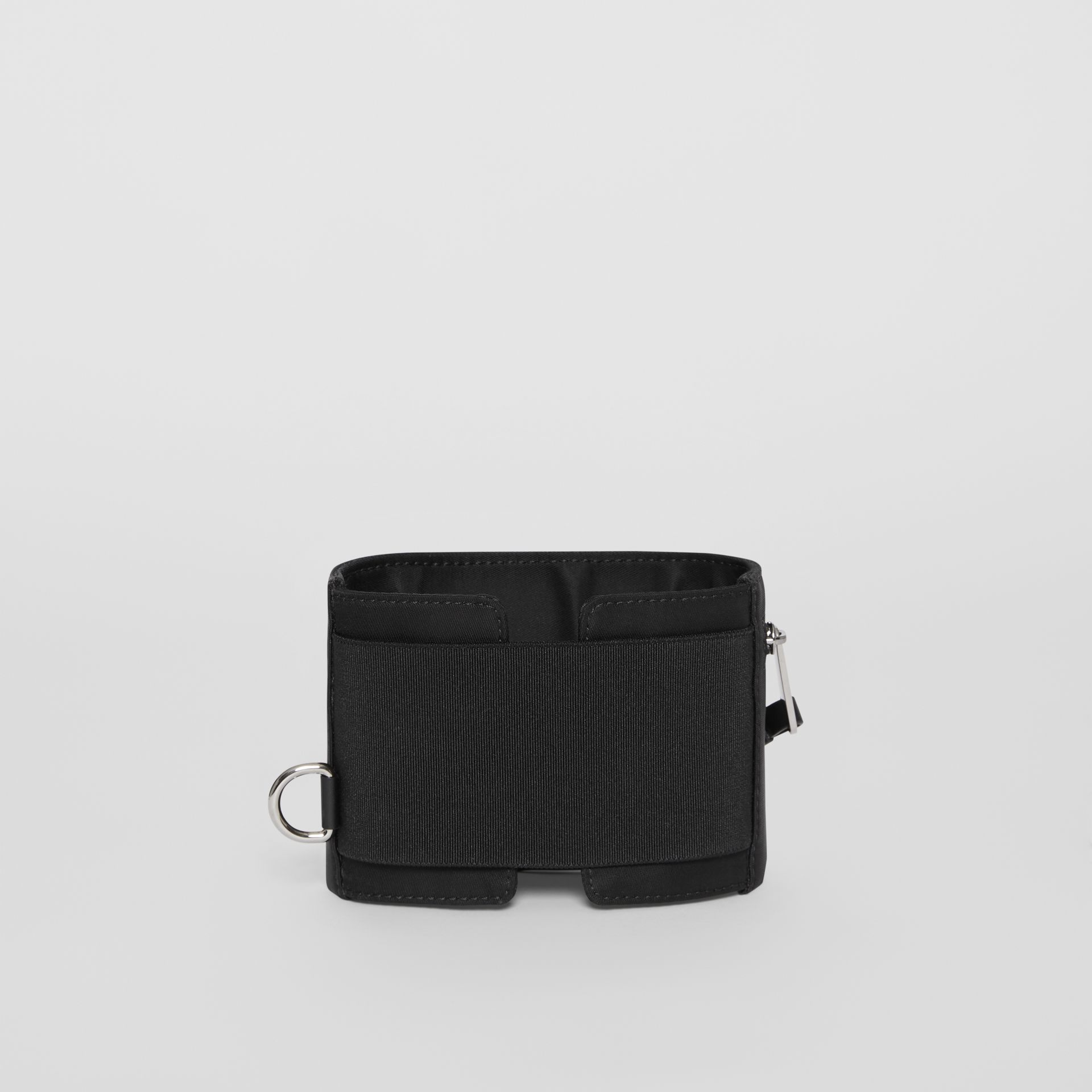 Logo Print Nylon Armband Pouch in Black - Men | Burberry - gallery image 5