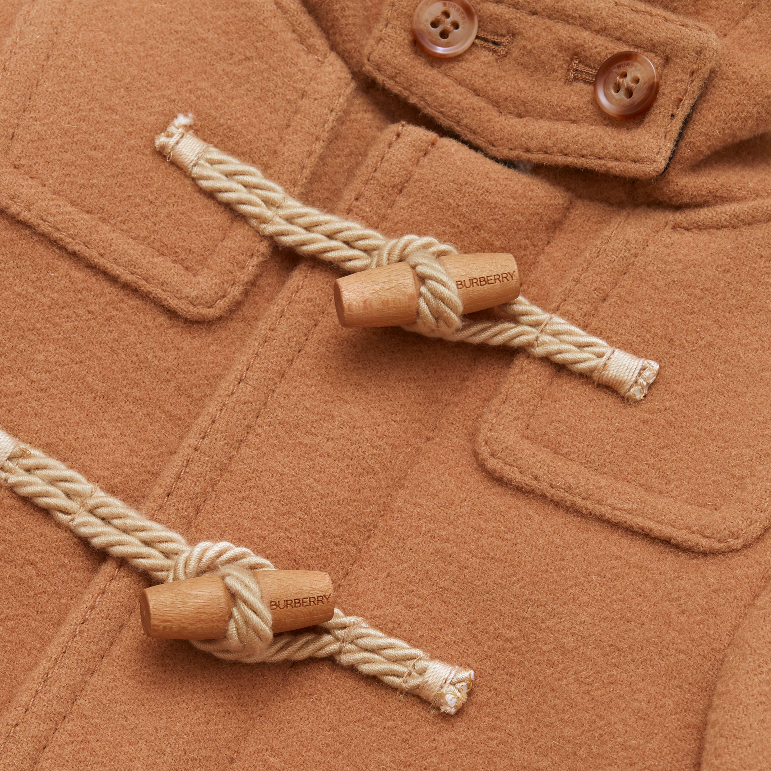 Double-faced Wool Duffle Coat - Children | Burberry - 2
