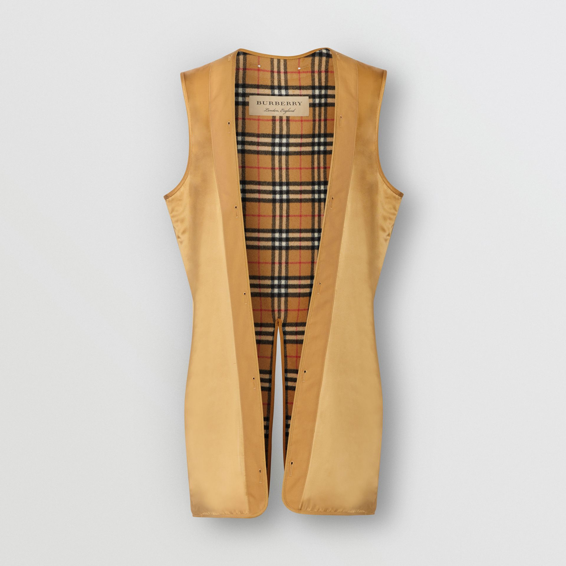 Camden Fit Warmer in Antique Yellow - Men | Burberry - gallery image 0