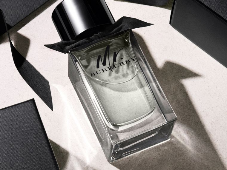 Mr. Burberry Eau de Parfum Set in Black - Men | Burberry United Kingdom - cell image 4