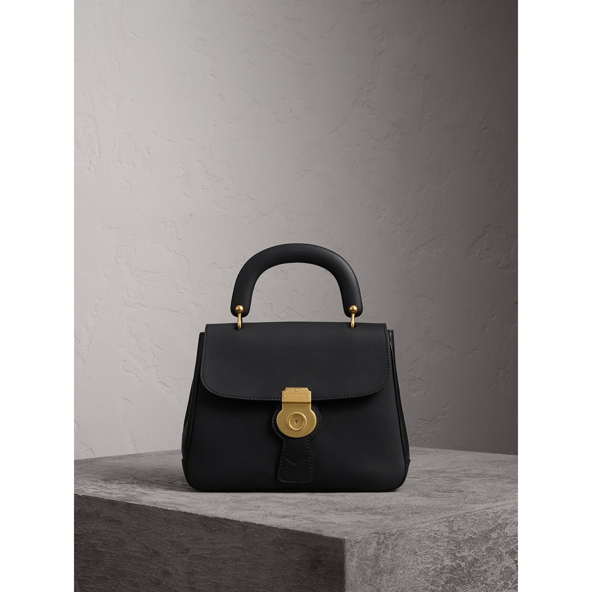 The Medium DK88 Top Handle Bag in Black - Women | Burberry Hong Kong - gallery image 1