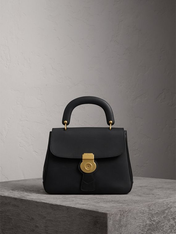 The Medium DK88 Top Handle Bag in Black - Women | Burberry