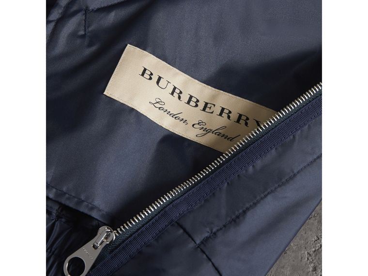 Lightweight Showerproof Bomber Jacket in Navy - Men | Burberry Singapore - cell image 1
