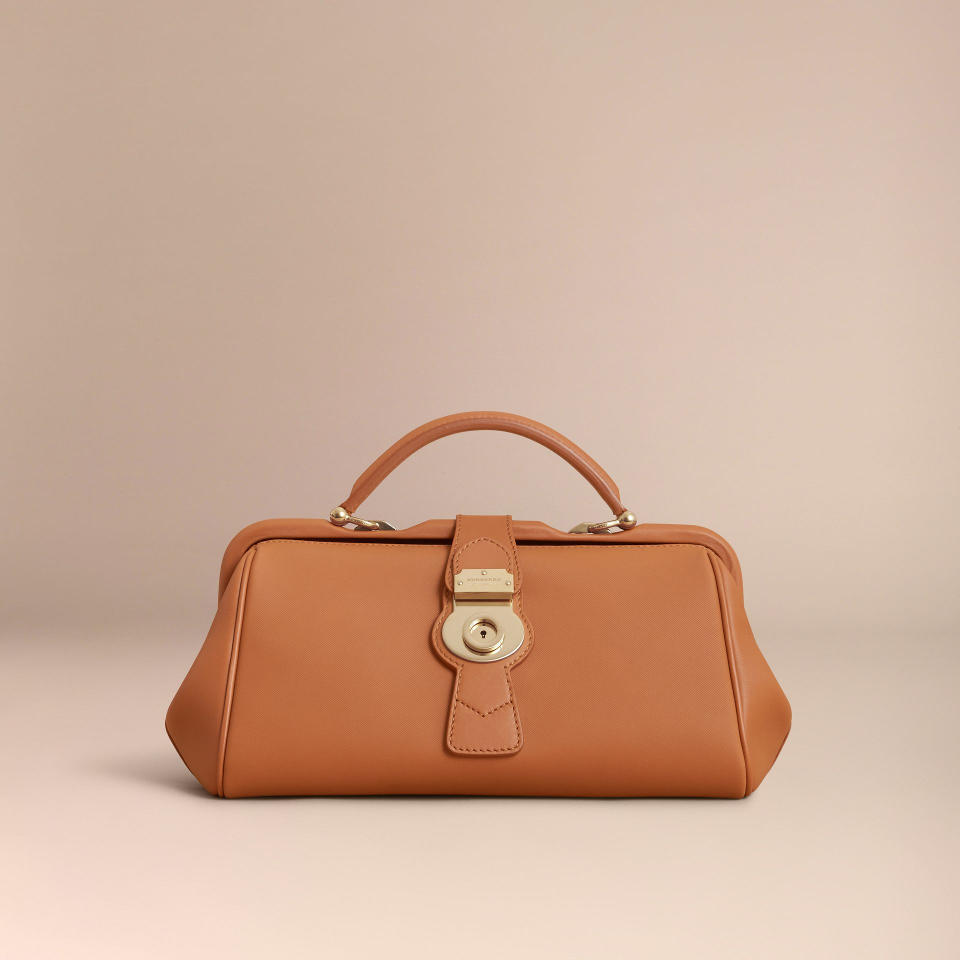 The DK88 Bowling Bag in Bright Toffee - Women | Burberry - gallery image 7