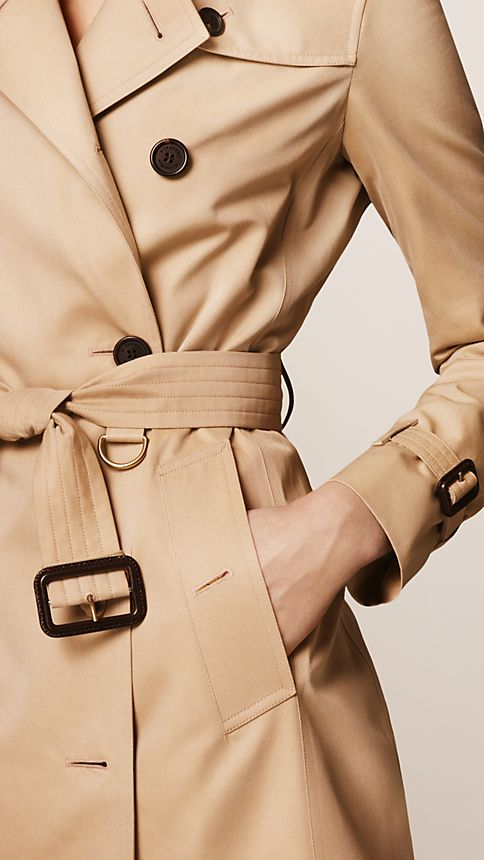 Honey The Kensington - Long Heritage Trench Coat - Image 4