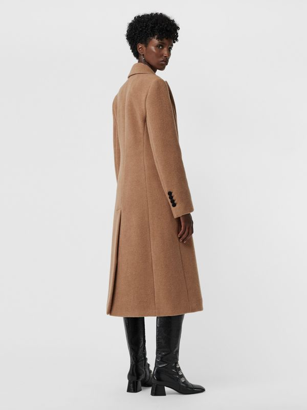 Oversized Lapel Camel Hair Tailored Coat - Women | Burberry - cell image 2