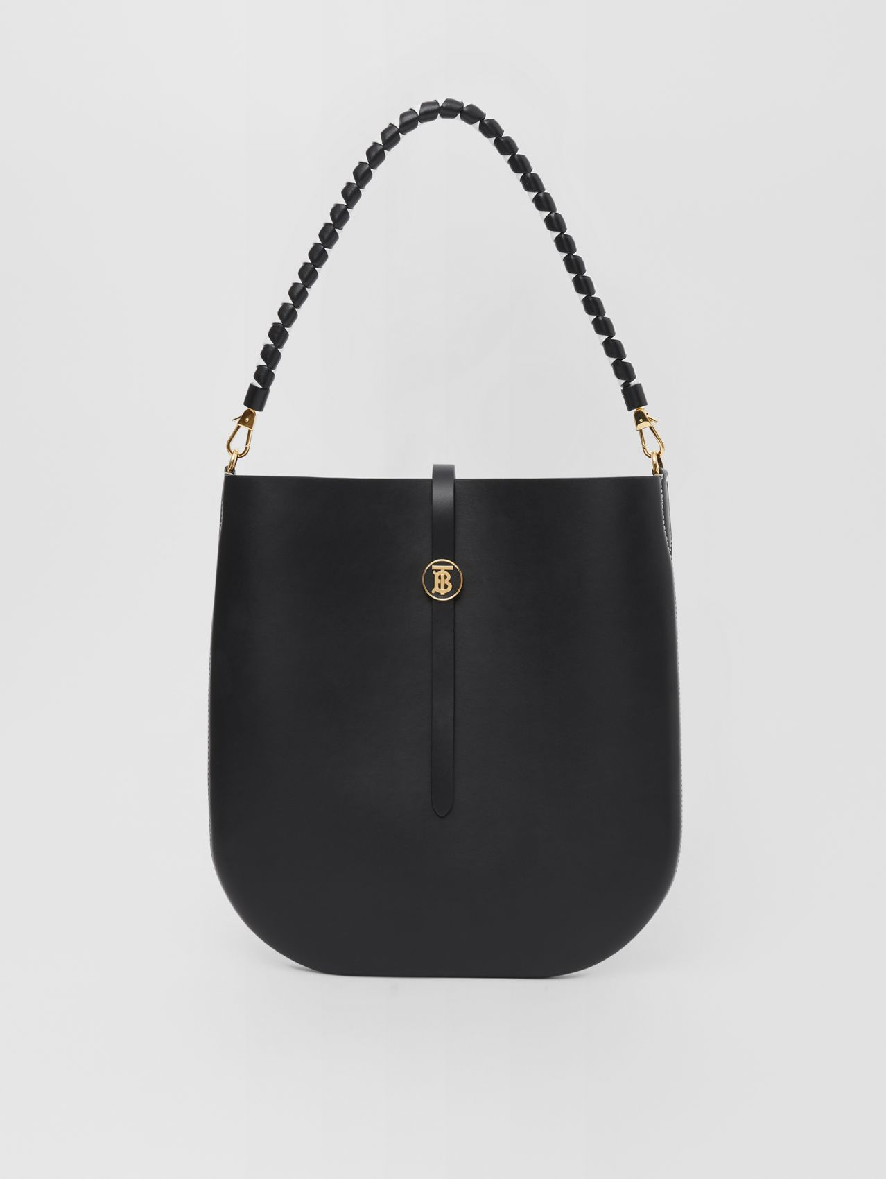 Leather Anne Bag in Black