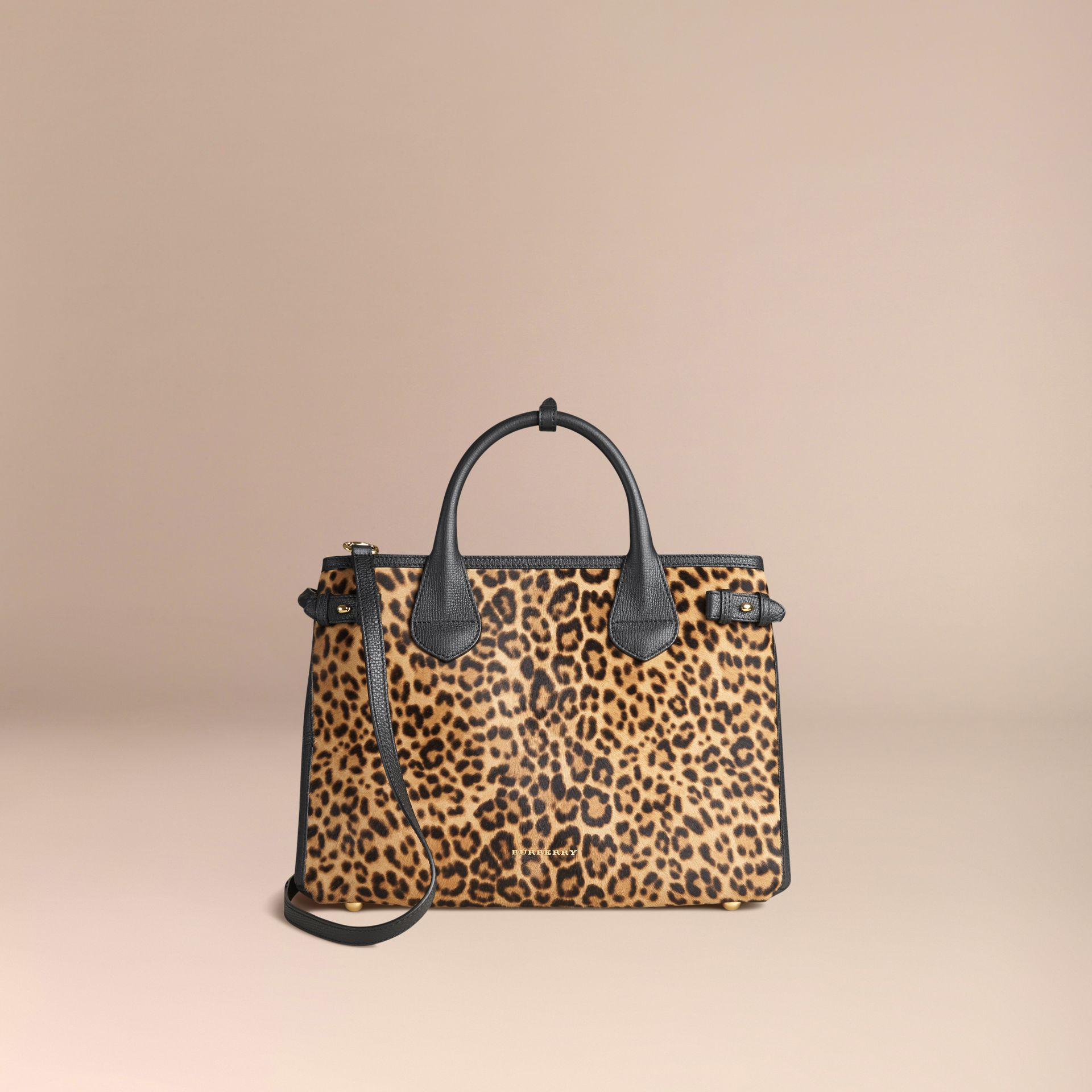 Camel The Medium Banner in Animal Print Calfskin - gallery image 6