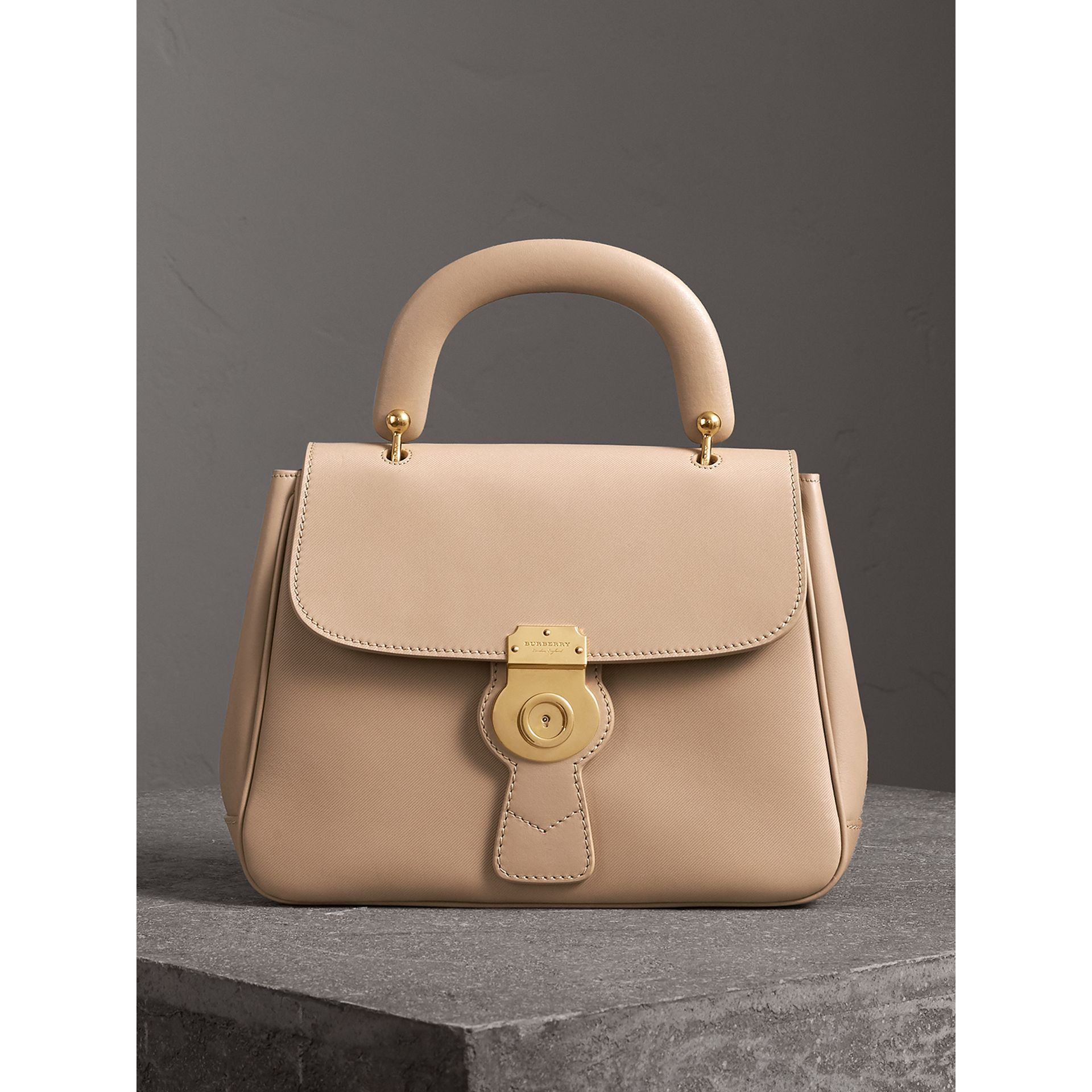 The Medium DK88 Top Handle Bag in Honey - Women | Burberry United Kingdom - gallery image 0