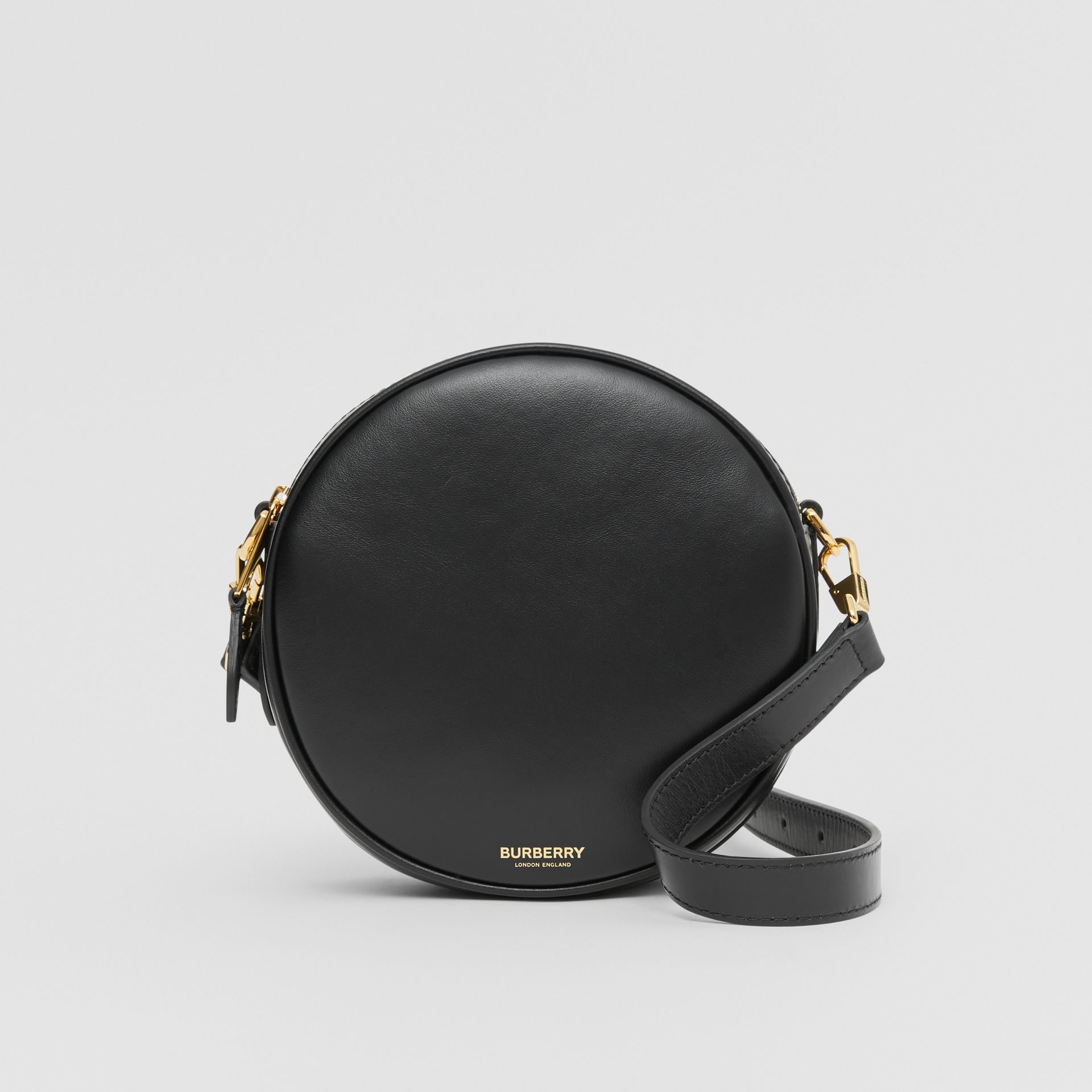 Leather Louise Bag in Black - Women | Burberry United Kingdom - gallery image 0