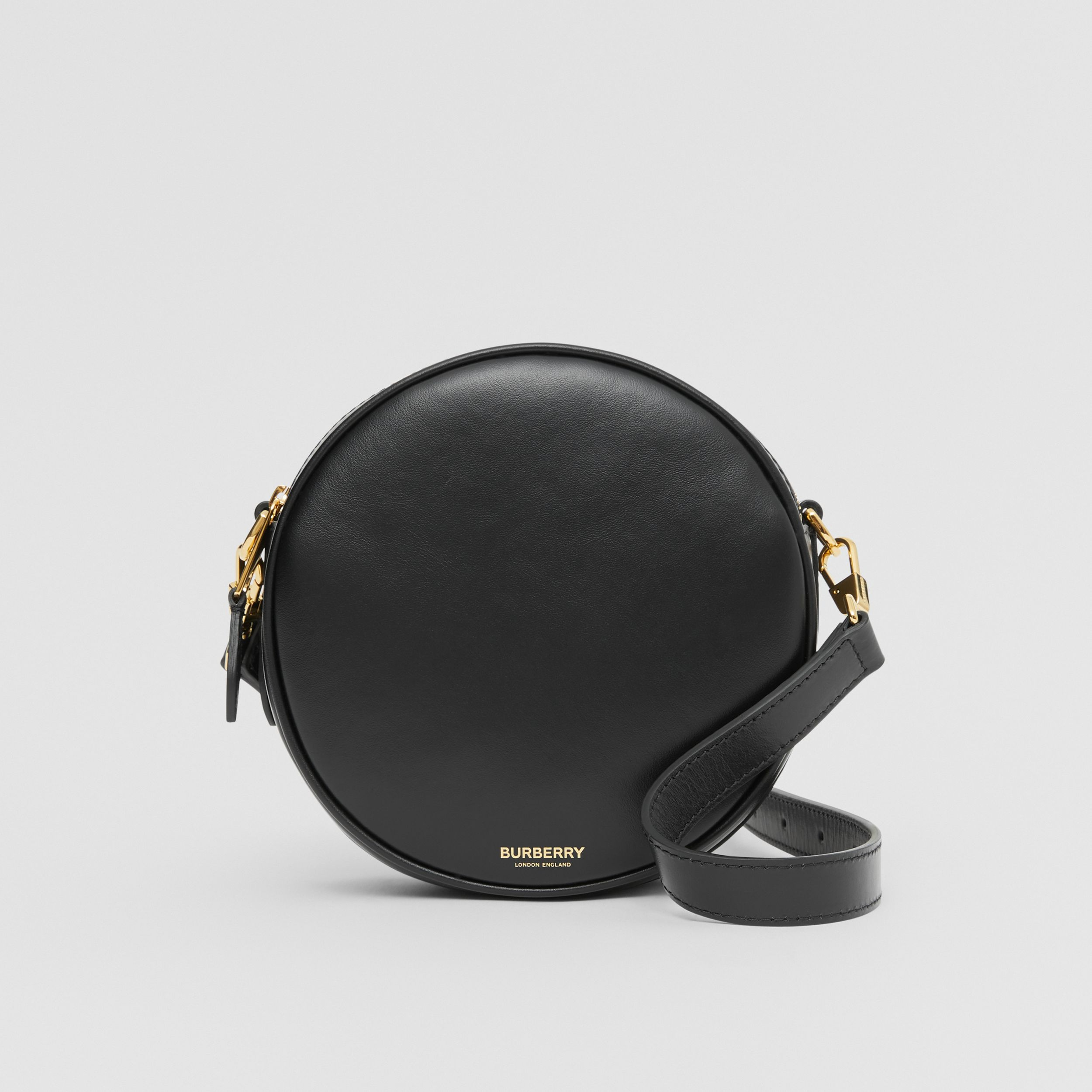 Leather Louise Bag in Black - Women | Burberry Singapore - 1